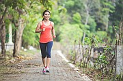 Some light jogging prior to a more intense workout can be a good way to get the muscles warmed up and the heart pumping.