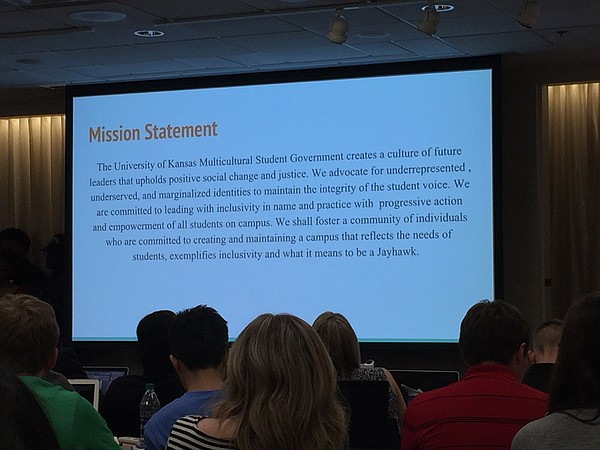 KU Multicultural Student Government mission statement.
