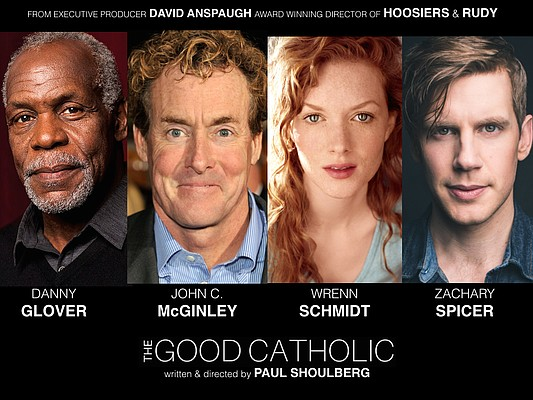 "Shooting wrapped last month on ""The Good Catholic,"" a romantic comedy written and directed by Lawrence native Paul Shoulberg. The film is inspired by the real life love story of Shoulberg's parents, Donald and Gini Shoulberg, a former priest and nun who left the Church to marry and raise a family."