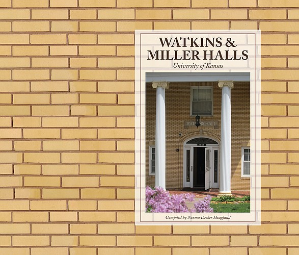 "The cover of the KU history book, ""Watkins and Miller Halls."" Contributed image."