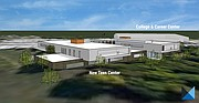 Renderings of the Boys & Girls Club new teen center.