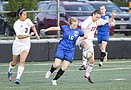 LHS soccer vs. Leavenworth