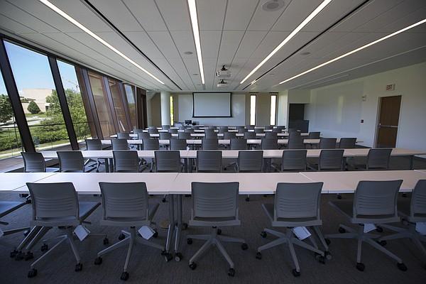 A classroom at Capitol Federal Hall.