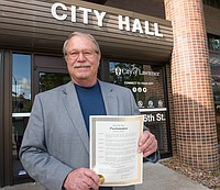 The Lawrence City Commission on Tuesday proclaimed May as Mental Health Awareness Month. This year's theme for Mental Health Month is — Life with a Mental Illness. People are encouraged to speak up about their own experiences, to share their point of view with individuals who may be struggling to explain what they are going through. Sharing is the key to breaking down negative attitudes and misperceptions surrounding mental illnesses, and to show others they are not alone in their feelings and their symptoms.