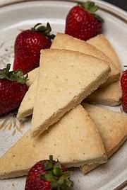 Audrey's Simple Shortbread Cookies