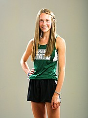 All-Area Girls Track, Emily Venters, Free State