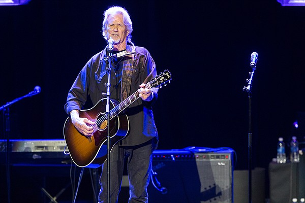 """Singer Kris Kristofferson performs on stage during the 16th Annual GRAMMY Foundation Legacy Concert """"A Song Is Born,"""" on Thursday, Jan. 23, 2014 in Los Angeles. (Photo by Paul a. Hebert/Invision/AP)"""