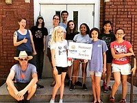 Youth engaged in service and learning all while having fun during Sunrise Project's Second Week of Summer of Service.