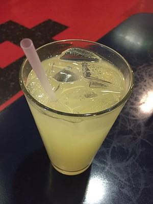 Rose lemonade at Aladdin Cafe, 1021 Massachusetts St.