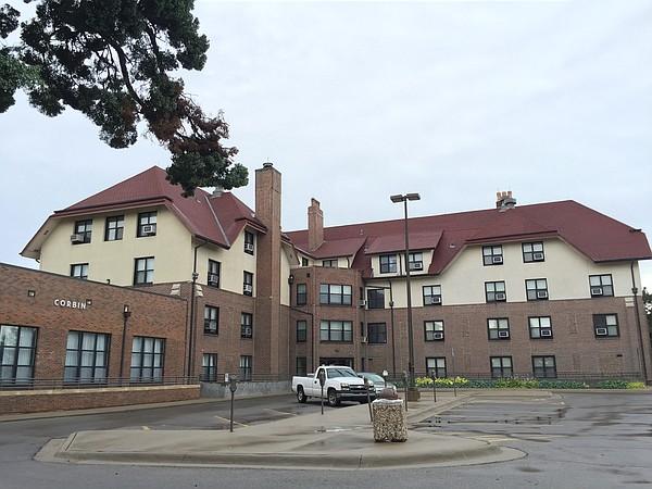 Corbin Hall, 420 West 11th St. on the Kansas University campus.