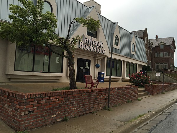 Jayhawk Bookstore is located at 1420 Crescent Road, just off the KU campus at Crescent and Naismith Drive.