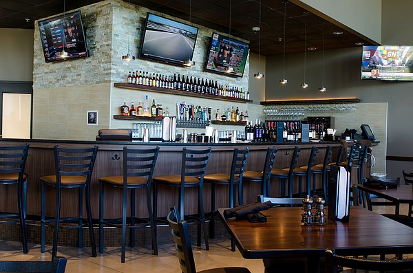 A look at how the bar area of Lawrence's new Hy-vee Market Grille likely will look. Photo Courtesy: Hy-Vee