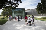 Visitors were strolling into the new DeBruce Center as the University of Kansas, the Memorial Unions, Student Union Actives and KU Athletics had a grand opening for the public on Saturday July 23, 2016.