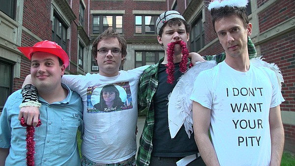 From left: Ethan Finlan, New Michael Ingemi, Jack Hanke and Noah Britton make up the comedy troupe Asperger's Are Us. The comedians, all of whom are openly autistic, will perform Aug. 5 at the Lawrence Arts Center, 940 New Hampshire St., at 7:30 p.m., followed up a Q-and-A session.