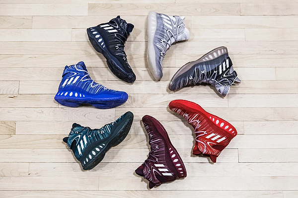 A quick look at the new Crazy Explosive shoe from Adidas.