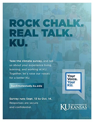 A flier for the 2016 KU Climate Study
