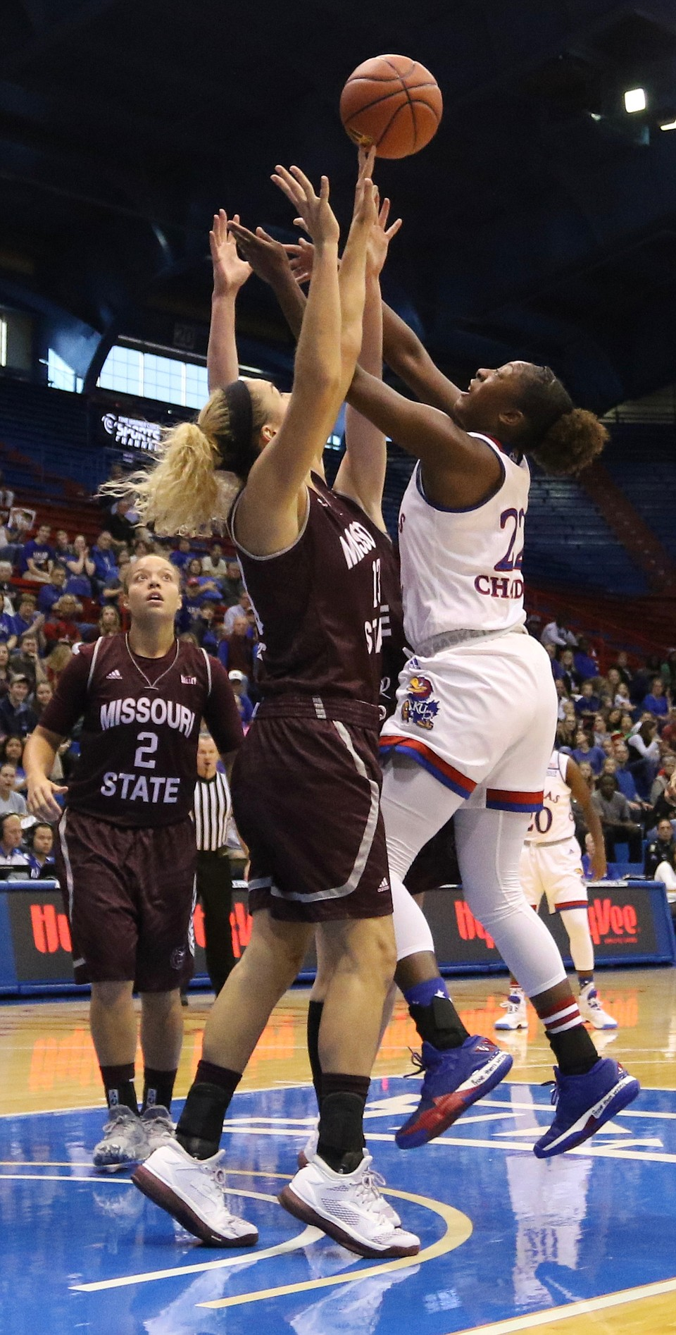 KU women's basketball vs. Missouri State | KUsports.com