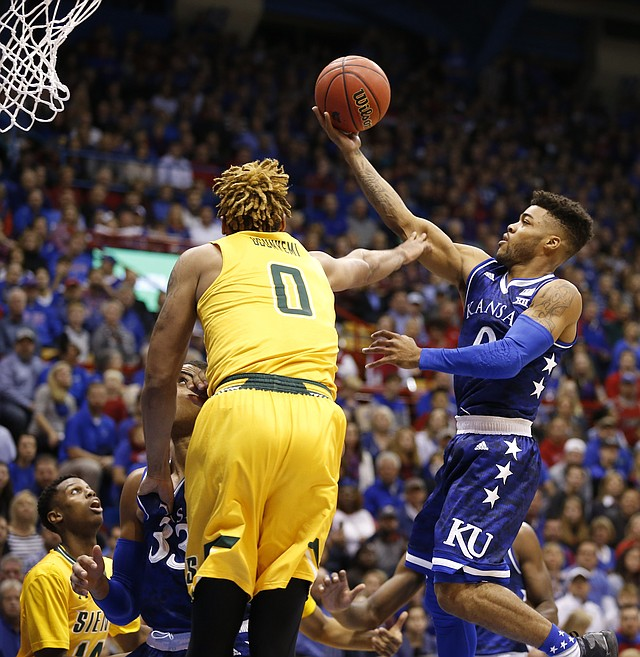 Photo Kansas Guard Frank Mason Iii 0 Floats In To