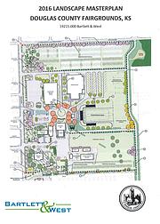 The Douglas County Fairgrounds landscape master plan.