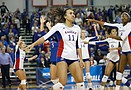 Kansas volleyball vs. Creighton