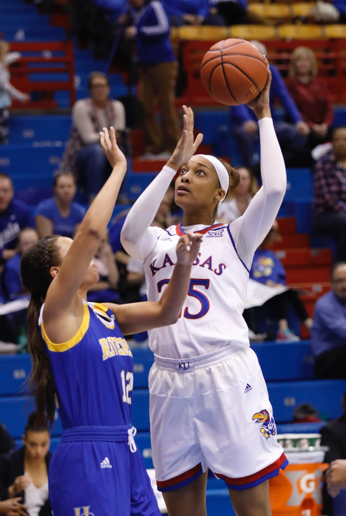 KU women's basketball vs. UC Riverside | KUsports.com