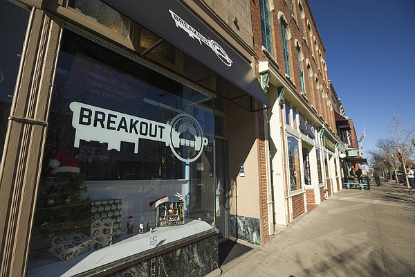 Breakout Lawrence, located at 727 Massachusetts Street, is an escape room business, which gives participants locked in a room an hour to complete various puzzles that will unlock the door.