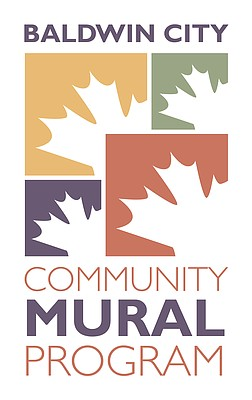 The first of a planned series of painting in the Baldwin City Community Mural Program is to be installed this spring downtown.
