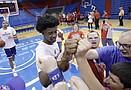 KU Special Olympics clinic