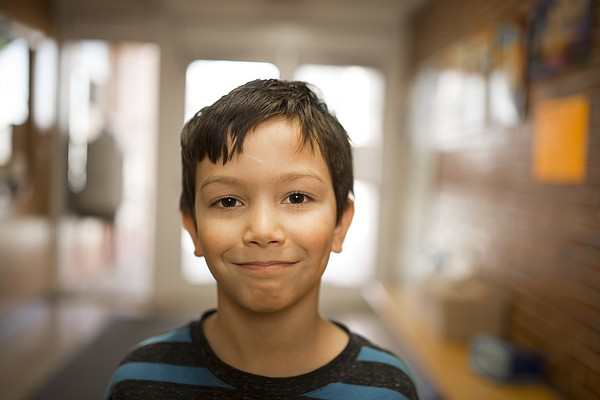 Pinckney School third-grader Ryan Fowler