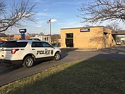 Police are investigating a bank robbery on the southwest side of Lawrence.