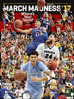 This year's Sports Illustrated March Madness cover.