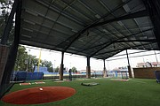 The Rich Jantz Player Development Center, an outdoor baseball hitting and pitching facility adjacent to Hoglund Ballpark at the University of Kansas, was completed in October 2016.