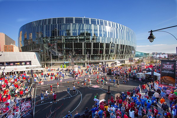 The Sprint Center in downtown Kansas City, Mo.