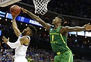 Kansas basketball v. Oregon (Elite Eight)
