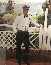 Douglas Girod, pictured in his Navy uniform, in 1992.