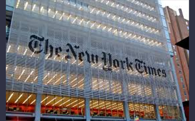 The New York Times. Credit: Haxorjoe via Wikimedia Commons.