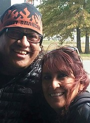 Jesse M. del Campo Jr., left, is pictured with his sister Catalina Martin del Campo.