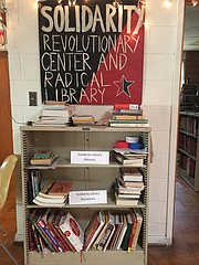 The Solidarity Library, which has moved several times over the years, will be relocated Saturday to a larger, more open area on the Ecumenical Campus Ministries' main floor, and those who manage the library are inviting the public to help with the move.