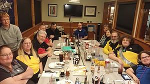 April 2017 meeting at Perkins Restaurant