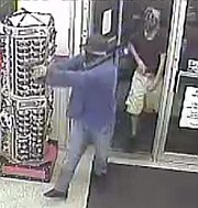 The Lawrence Police Department released this photo from surveillance footage at Kwik Shop, 845 Mississippi St., on Tuesday, Sept. 5, 2017.