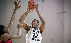 New Kansas commitment David McCormack, the No. 2 ranked center in the Class of 2018, announced his college choice on live television Sunday, Sept. 24, 2017.