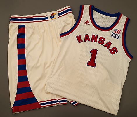 KU's shoe and apparel deal with Adidas is the fourth largest in the NCAA. (Photo courtesy of Kansas Athletics).