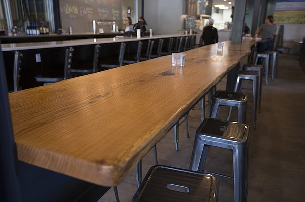 Among Recent Form U0026 Function Projects Is The Standing Bar At Lawrence Beer  Co.,