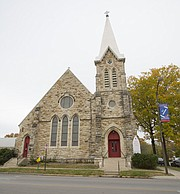 Trinity Episcopal Church, 1011 Vermont Street, is pictured Friday, Nov. 3, 2017.