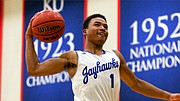 Class of 2018 point guard Devon Dotson made his oral commitment to KU official on Saturday, Nov. 11, 2017, when he sent his national letter of intent to the KU basketball offices.