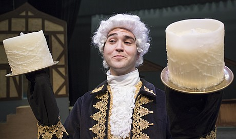 Lumiere Played By Tony Console From A Scene Beauty And The Beast Opening Dec 1 At Theatre Lawrence
