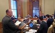 Kansas Department of Corrections Secretary Joe Norwood tells a legislative committee he plans to spend nearly $300 million over 20 years to develop a new prison facility at Lansing.