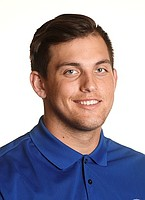 James Sosinski's KU football head shot.