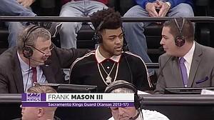 Frank Mason III joins ESPN2's broadcast of Kansas vs. Stanford Thursday night, in Sacramento.