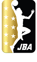 The JBA logo, featuring Lavar Ball's son, Lonzo Ball, who stars at point guard for the Los Angeles Lakers.